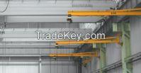 5 ton electric wall travelling jib crane