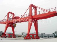 Ship to shore container portal gantry crane 50 ton