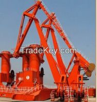 40 ton single jib portal crane