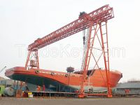 200 ton Heavy duty ship building gangtry crane