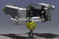 20 ton European steel wire rope electric hoist