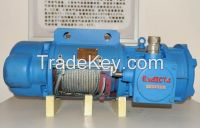 Anti-explosion 20 ton wire rope pulling hoist 380V