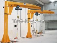 360 degree 10 ton floor mounted column jib crane