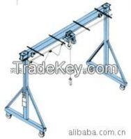 High quality 1 ton single girder mini gantry crane