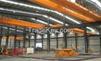 300 ton Electric double girder overhead magnetic lift crane