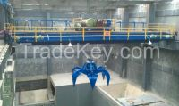30 ton single girder overhead grab crane