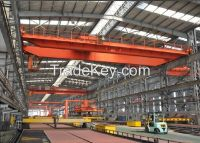 2015 New design 10t magnet crane with spreader