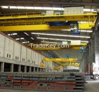 High quality overhead crane with magnet spreader