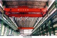 Widely used electric double girder overhead travelling crane