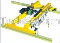 Workshop 15 ton overhead travelling crane