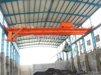 Professional design 10t single girder overhead grab crane