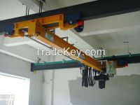 Hot sale 10t single girder suspension overhead crane