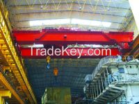 QD type double girder overhead trolley travelling crane