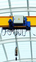 European standard 5 ton electric sinlge girder top running overhead crane HD type