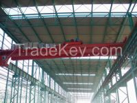Widely used QD type 20t overhead double girder cranes
