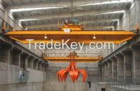 Hot sale CE certificate QZ grab crane double girder crane from China