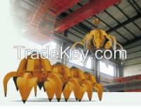 2015 new double girder overhead crane with grab