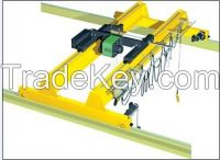 Indoor overhead crane double beam overhead travelling EOT crane 50t