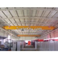 Single girder overhead top running crane 10t with high quality