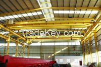 Widely used 32t 50t 75t double beam overhead anti-explosion crane with hook