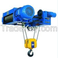 Light duty 3t wire rope electric hoists for construction lifting