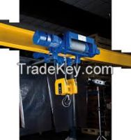 5t low head room electric trolley travelling hoists