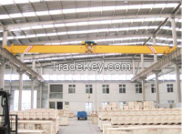 10t electric single girder top running overhead cranes LDY type