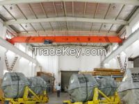 LDY metallurgy 2t electric single girder overhead cranes