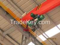 Top sales 2t electric single girder overhead cranes