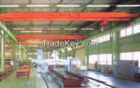 2015 widely used 3t top running single girder cranes