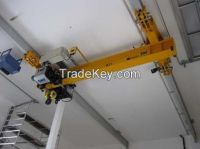 LX 1-10t electric single girder suspension crane