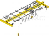 Light duty 3t overhead explosion-proof crane