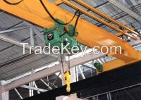 Light duty 2t overhead explosion-proof crane