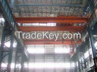 Light duty 5t double girder overhead crane