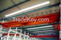 380V 16t double girder overhead crane