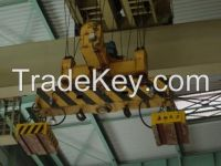 QC type 10t magnetic overhead crane
