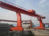 50t single girder gantry crane