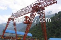 16t 20t single beam gantry crane
