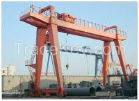 380V 50t double girder gantry crane
