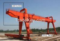 380V 32t double girder gantry crane