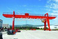 440V 50t double girder gantry crane