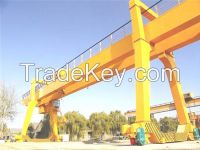440V 10t double girder gantry crane