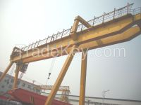 440V 20t double girder gantry crane