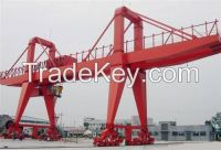 440V 75t double girder gantry crane