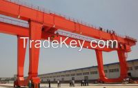 380V 40t double beam gantry crane