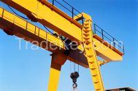 380V 20t double beam gantry crane