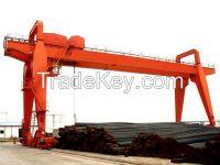 380V 50t double beam gantry crane