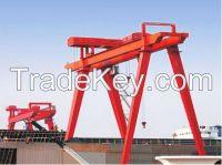 440V 10t ship building gantry crane