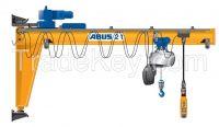 2t wall mounted jib crane