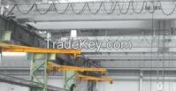 380V 2t wall mounted jib crane